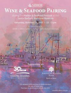 Wine & Seafood Pairing @ Santa Barbara Maritime Museum | Santa Barbara | CA | United States