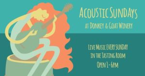 Acoustic Sundays at the Winery with Nathan X Moody @ Donkey & Goat Winery | Berkeley | CA | United States