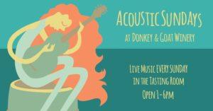 Acoustic Sunday with John Paul Hodge @ Donkey & Goat Winery | Berkeley | CA | United States
