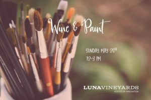 Wine and Paint @ Luna Vineyards in the Napa Valley | Napa | CA | United States