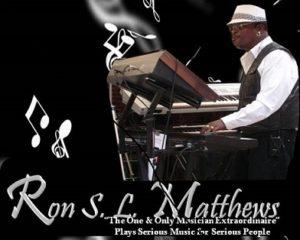 Live Music: Ron Matthews @ Oakland | CA | United States