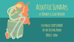Acoustic Sundays with Lowatters @ Donkey & Goat Winery | Berkeley | CA | United States