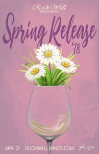 Rock Wall Wine Co Presents: Spring Release 2018! @ Alameda | CA | United States