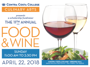 The 11th Annual Food and Wine Event @ Contra Costa College | San Pablo | CA | US