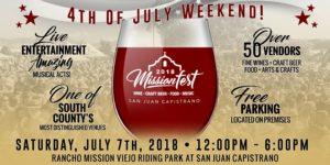 MissionFest™ - Wine, Craft Beer, Food, and Music Festival @ San Juan Capistrano | San Juan Capistrano | CA | US