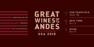 Great Wines of the Andes 2018: Grand Tasting - San Francisco @ Golden Gate Club | San Francisco | CA | US