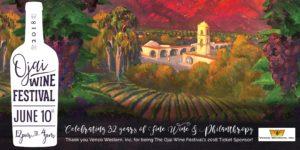 32nd Annual Ojai Wine Festival @ Lake Casitas Recreation Area's Wadleigh Arm Event Site | Ventura | CA | US