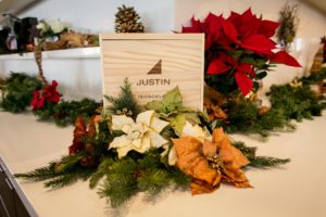 8th Annual Holiday Open House Dinner- Friday, November 16, 2018 @ JUSTIN Vineyards & Winery | Paso Robles | CA | US