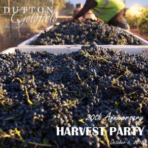 20th Anniversary Harvest Party @ Dutton-Goldfield Winery | Sebastopol | CA | United States