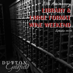 Library and Large Format Wine Weekend @ Dutton Goldfield Winery | Sebastopol | CA | United States