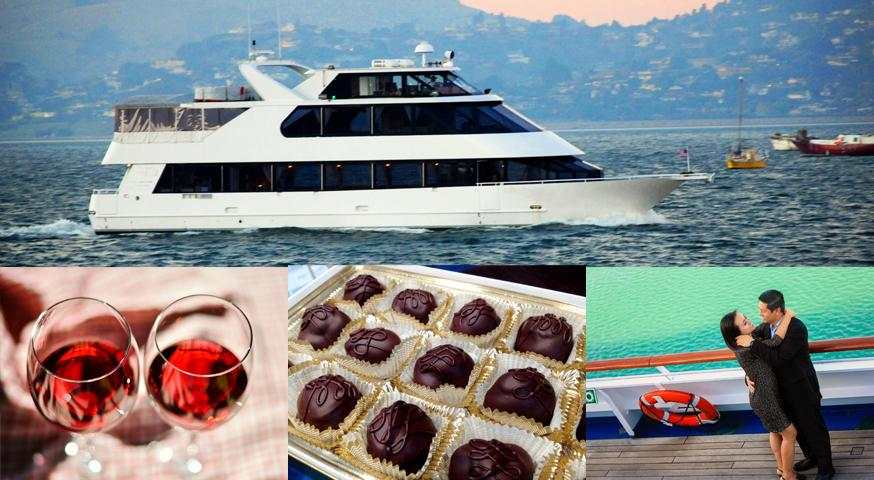 Chocolate & Wine CRUISE on San Francisco Bay