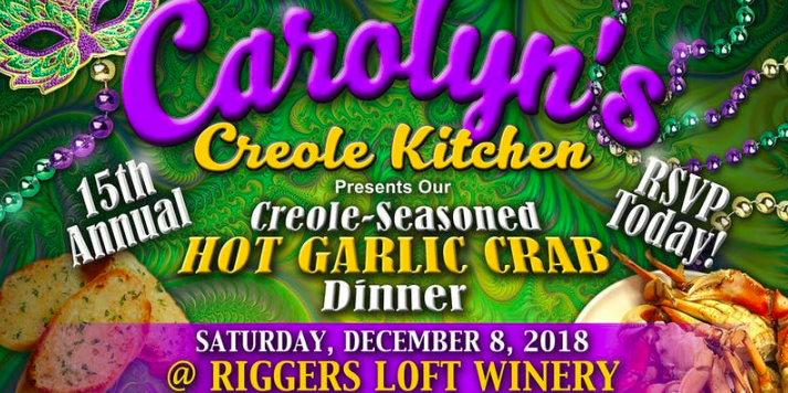 Creole Garlic Grab Dinner – Andre Thierry!!