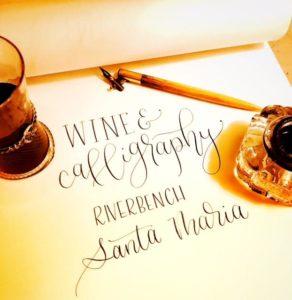 Learn Modern Calligraphy at Riverbench @ Riverbench Vineyard & Winery | Santa Maria | CA | US
