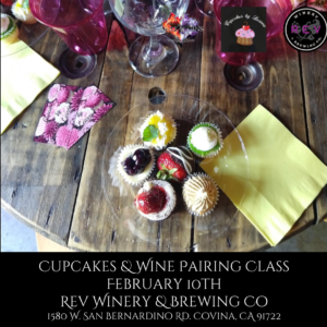 Cupcakes and Wine @ REV Winery & Brewing Company | Covina | CA | US