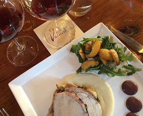Moshin Vineyards Vintner's Luncheon at Valette