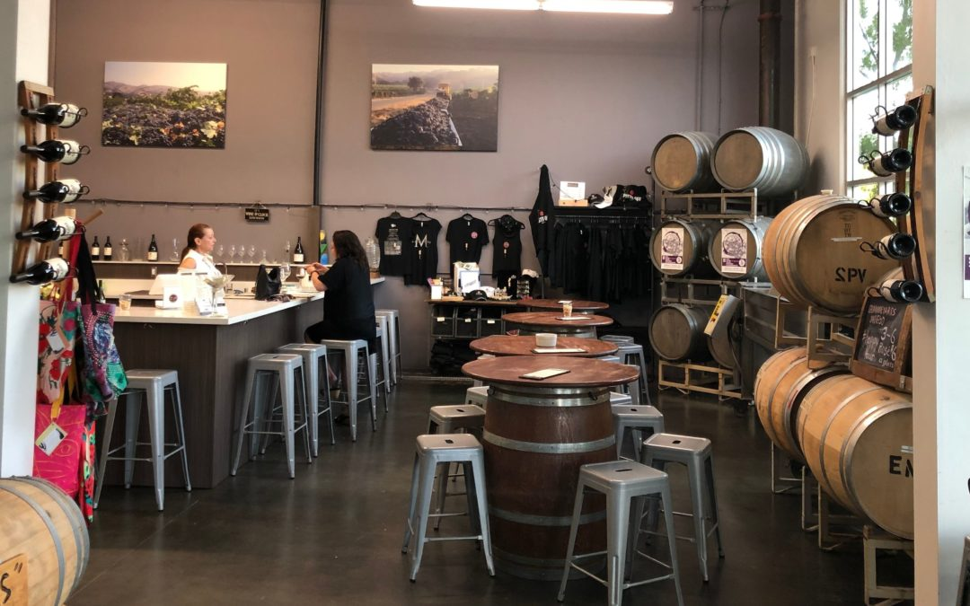 Wine pairing and wine tasting at 2Plank Winery in Vista