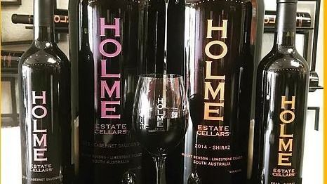 Wine tasting at Holme Estate Cellars
