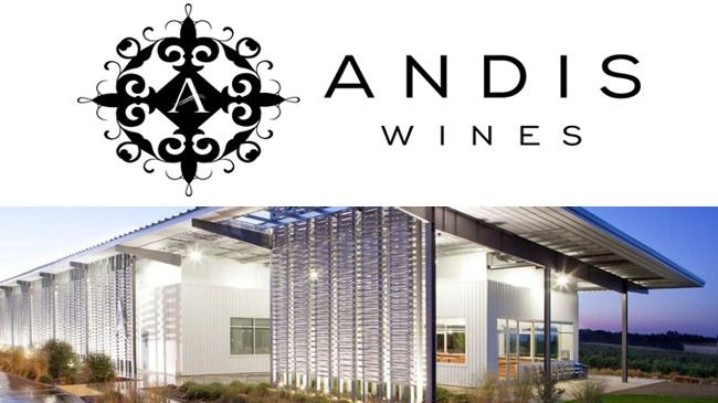 State-of-the-art Andis Winery, Amador County