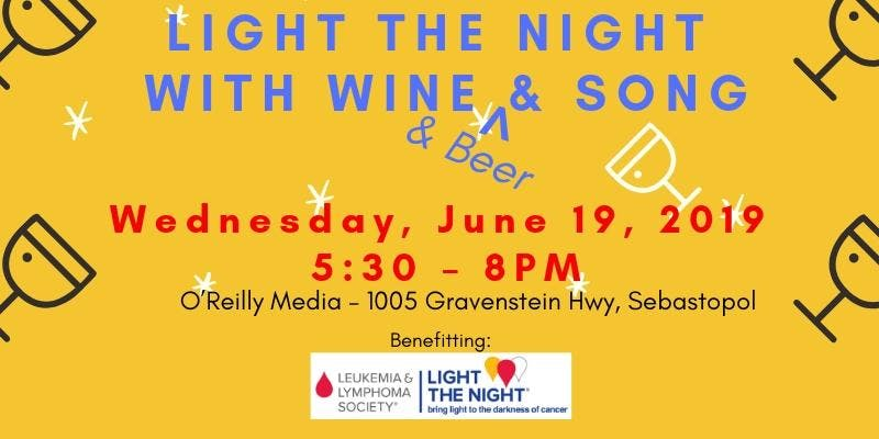 Light the Night with Wine & Beer & Song