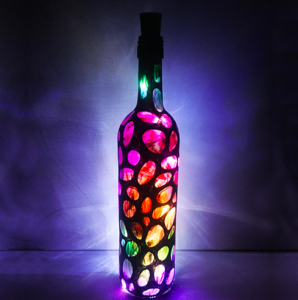 PaintNite: Magical Bottle w. Faery Lights @ Riggers Loft Wine Company | Richmond | CA