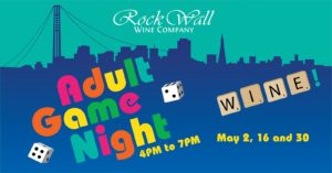 Rock Wall Wine Co Presents: Adult Game Night! @ Alameda | CA | United States