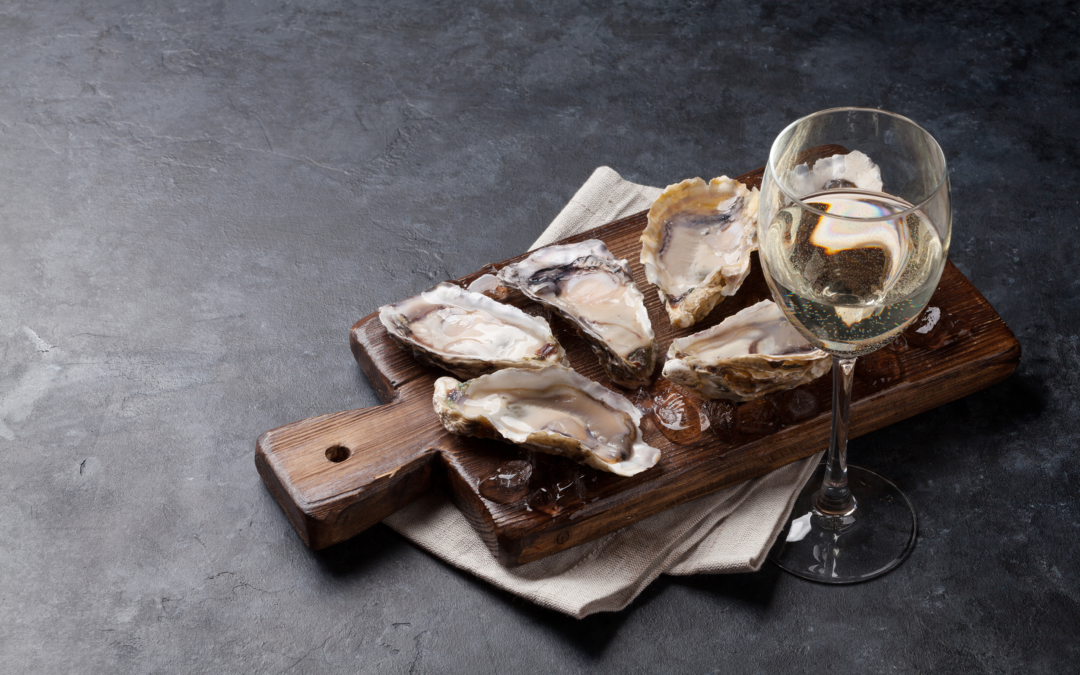 Fresh Local Oysters + Sparkling Wine Flights