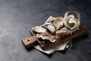 Fresh Local Oysters + Sparkling Wine Flights @ Riverbench Vineyard and Winery | Santa Maria | CA | US