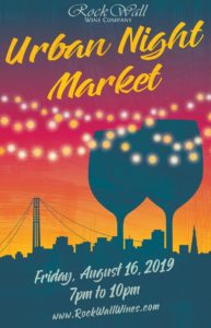Rock Wall Wine Co Presents: Urban Night Market @ Alameda | CA | United States