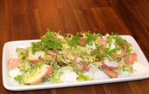 Summer Peach and Prosciutto Salad