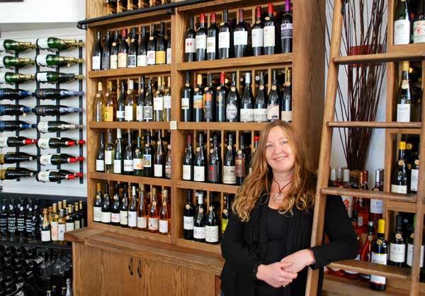 Susanné Breen, Downtown Wine Merchants Oakland CA